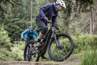 Beim Uphill geht es darum, möglichst schnell einen Trail bergauf zu meistern