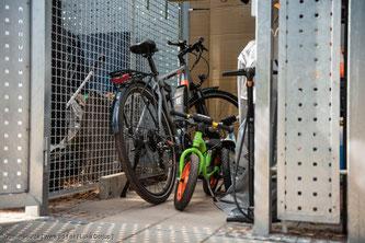 """Fahrradgarage wie die """"Bikebox"""" von WSM"""