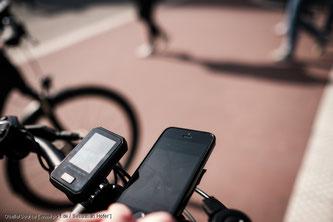 Radfahrer dürfen während der Fahrt das Smartphone nutzen
