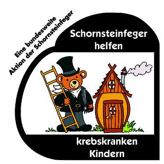 Logo Schornsteinfeger helfen krebskranken Kindern