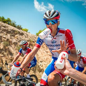 Neue technische Trinkflaschen für die Elite Teams der World Tour 2020 ©Paul Lange & Co.