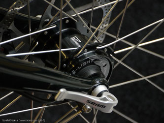 Neue Fahrräder haben mittlerweile standardmäßig Nabendynamos verbaut.