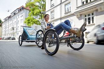 Wer einen erhöhten Reifenverschleiß an seinem Trike feststellt, sollte einmal die Spur des Rades überprüfen lassen