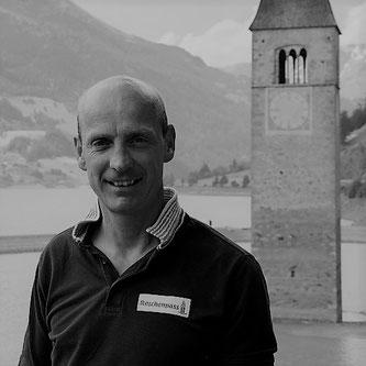 Gerald Burger, Tourismusdirektor vom RESCHENPASS