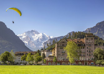 Interlaken ist der Zielort der Radtour vom Bodensee in die Schweizer Alpen. Bildnachweis: Radweg-Reisen