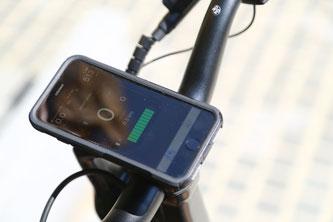 Die Ariv eBike-App lässt sich bequem mit dem Meld koppeln. © Andreas Burkert