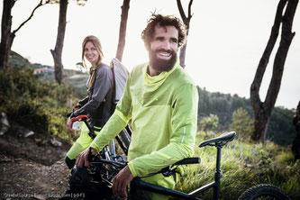 30 Minuten Radfahren reichen, um reichlich Endorphine auszuschütten