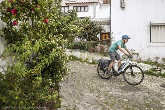Das E-Bike unterstützt beim Treten