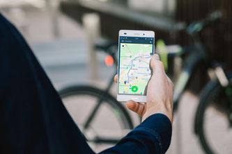BikeTrax - GPS Tracker am Smartphone