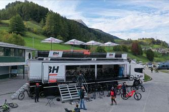 BH Bikes Event Truck