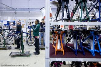 Die Londoner Faltradkultmarke Brompton gilt als der letzte große Produzent der ehemals ruhmreichen britischen Fahrradindustrie