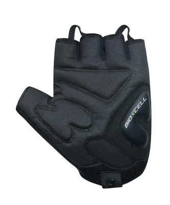 Die Polsterung des BioXCell entlastet die empfindlichen Hände und das griffige Material sorgt für einen guten Halt am Lenker.