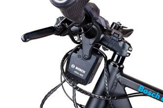 Bei der Entwicklung des eBike-ABS hat Bosch mit dem langjährigen Partner Magura zusammengearbeitet, der ein spezielles Bremssystem gefertigt hat.