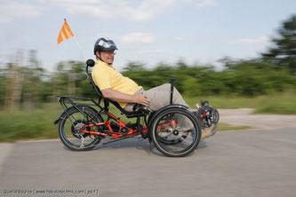 Radfahren ist besonders gelenkschonend