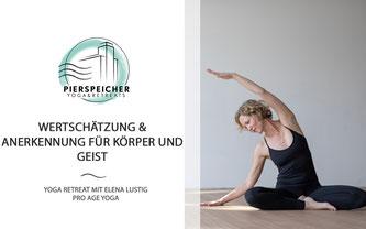 Yoga Retreat mit Elena Lustig vom 04. bis 06.12.2020
