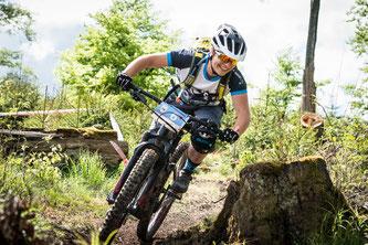 Die eMTB-Challenge bietet maximalen Spaßfaktor für Jedermann. Die Strecken sind für geübte Hobby-Biker gut fahrbar und zugleich fordernd für Profis.