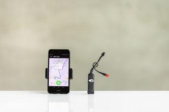 GPS-Tracker BikeTrax // PowUnity ©MariaKirchnerFotografie