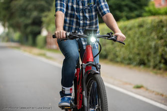 Fahrradlicht richtig einstellen - Tipp vom pd-f