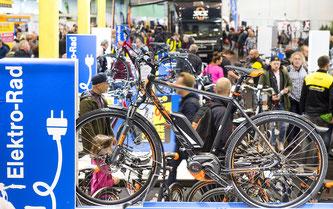 E-Bikes erweisen sich als Messeverkaufsschlager