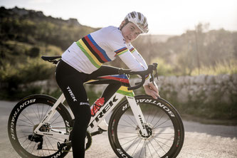 Amtierende UCI Weltmeister Mads Pedersen