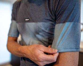 Santini Forza Tech T-Shirt | Polartec® Delta™