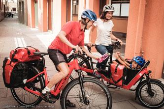 Die fahrdynamischen Reserven der Federung sind bei E-Bikes sinnvoll eingesetzt