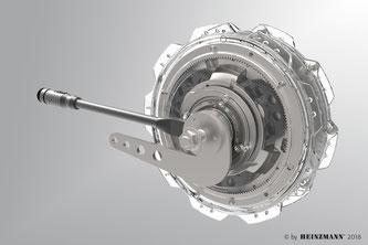 Schnitt - CargoPower-Motor RN 111
