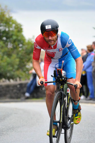 RAHN Fabian beim Ironman in Wales 2018
