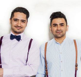 SMINNO Gruender: Khesrau Noorzaie und Sohrab Noorzaie