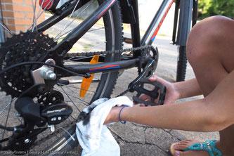 Fahrradkette richtig warten - Tipp vom pd-f