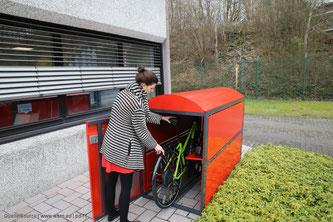 Gut funktionierende Radverkehrsinfrastruktur bietet auch den nötigen Raum für Fahrräder