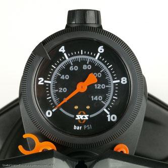 Der richtige Luftdruck ist entscheidend für das Fahrverhalten eines Fahrrades