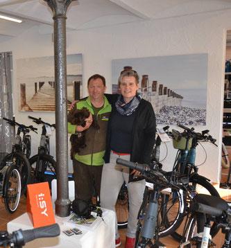 Josef Lechenbauer und Heike Stürz © Josef Lechenbauer E-Bike-Center