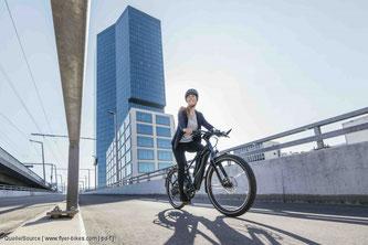 Das Getriebe passt die hohe Drehzahl des Motors auf die niedrige Drehzahl des E-Bikes an