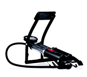 Heyner Fußluftpumpe PedalMax Pro Black Editon