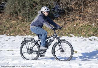 Riemenstärke und ‑breite sowie das Zahnprofil auf der Innenseite sind speziell auf den Einsatz am Fahrrad abgestimmt