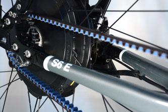 Hinterrad-Motor:  Electrolyte Dauerläufer S6E