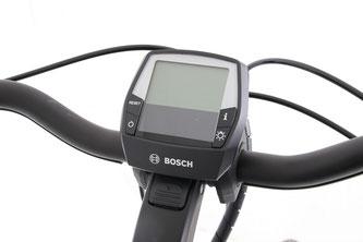 Der Bordcomputer von Bosch sammelt alle relevanten Daten und stellt sie gut sichtbar dar.