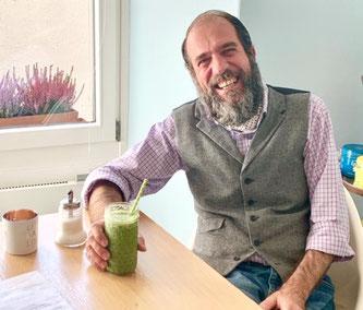 Inhaber des Café Cuore: Ivan Del Brocco