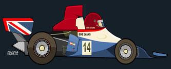 Bob Evans by Muneta & Cerracín - Bob Evans - BRM P201B