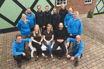 Mitarbeiter der Tischlerei Sönke Dethlefsen, Herbst 2019