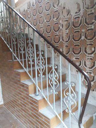 Orginal- Zustand der Treppe