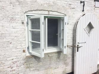 Zargenfenster im denkmalgeschützten Haus