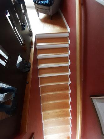 neuer Treppenverlauf