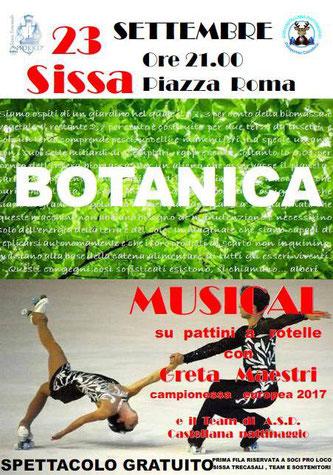 BOTANICA Musical sui pattini con Greta Maestri