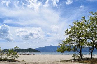 Keramoti beach