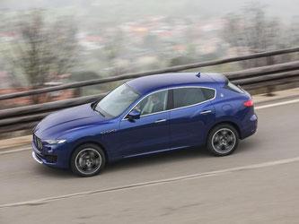 Maserati versucht, mit einem SUV auch Familien zu ködern. Foto: Maserati