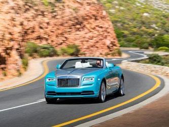Lass' die Sonne rein: Das neue Cabrio Dawn von Rolls-Royce. Foto: Rolls Royce