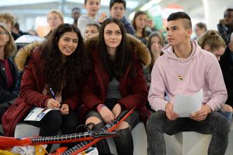 Im Vorjahr strömten mehr als 3.000 Besucher zur Ausbildungs-messe IHK jobfit! (Foto: Andreas Gebert / IHK München)