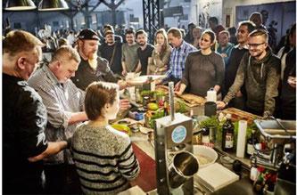 Auch in diesem Jahr gibt es im Rahmen des Festivals wieder ein vielfältiges Programm (Foto: eat & style / Fleet Food Events GmbH)